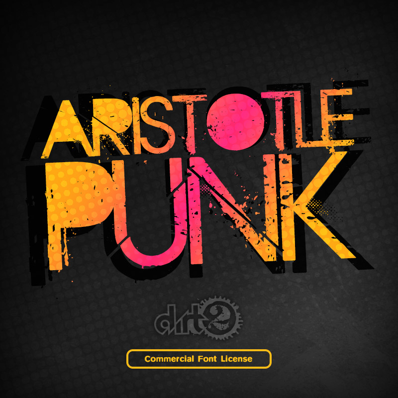 Aristotle Punk Font and Commercial License from SickCapital.com