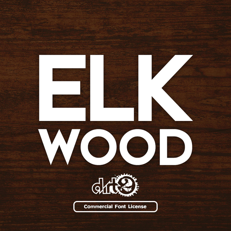 Elkwood Font and Commercial License from SickCapital.com