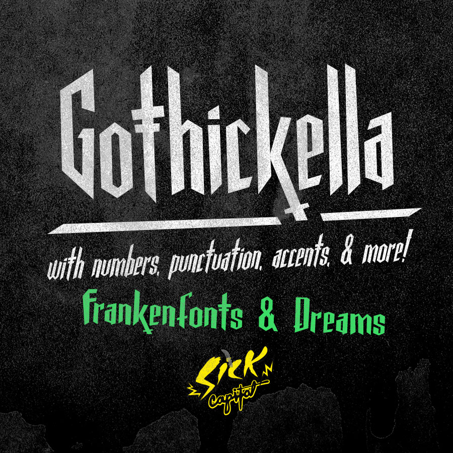 Gothickella Font Preview