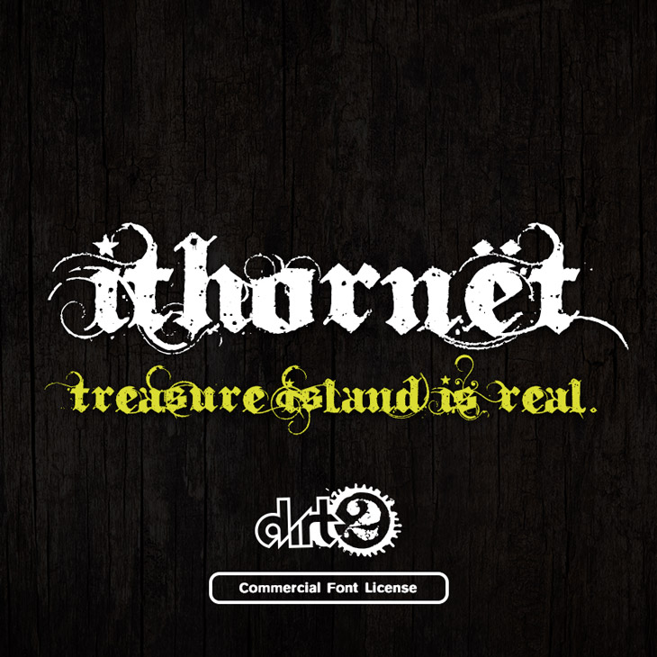 Ithornët font and commercial license from SickCapital.com