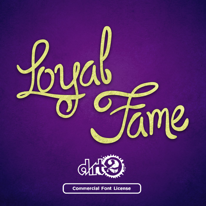 Loyal Fame Font and Commercial License from SickCapital.com