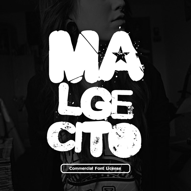 Malgecito font and commercial license from SickCapital.com