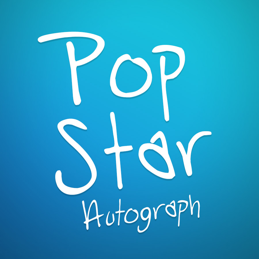 PopStar Autograph Font and Commercial License from SickCapital.com