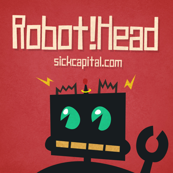 RobotHead font and commercial license from SickCapital.com