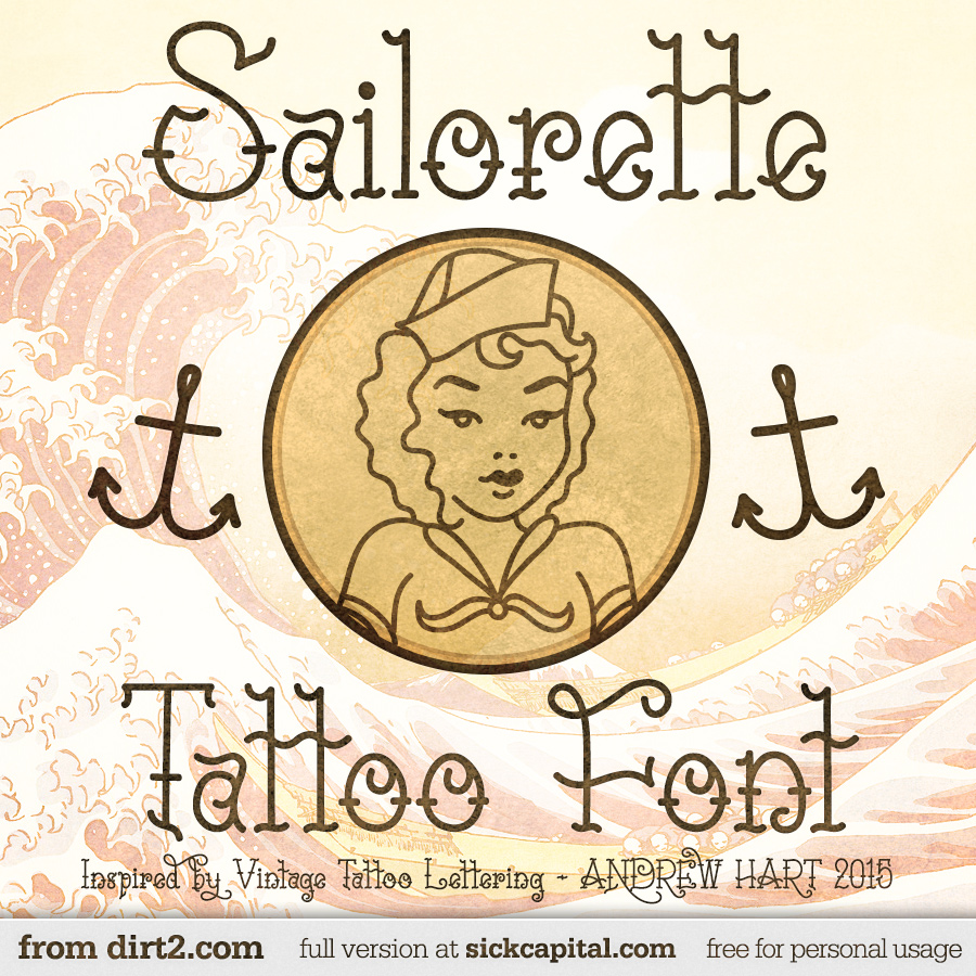 Sailorette Font and Commercial License from SickCapital.com