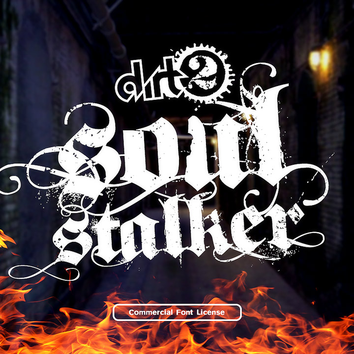 SoulStalker Font and Commercial License from SickCapital.com