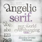 Angelic Serif Font and Commercial License from SickCapital.com
