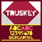 Truskey Font and Commercial License from SickCapital.com